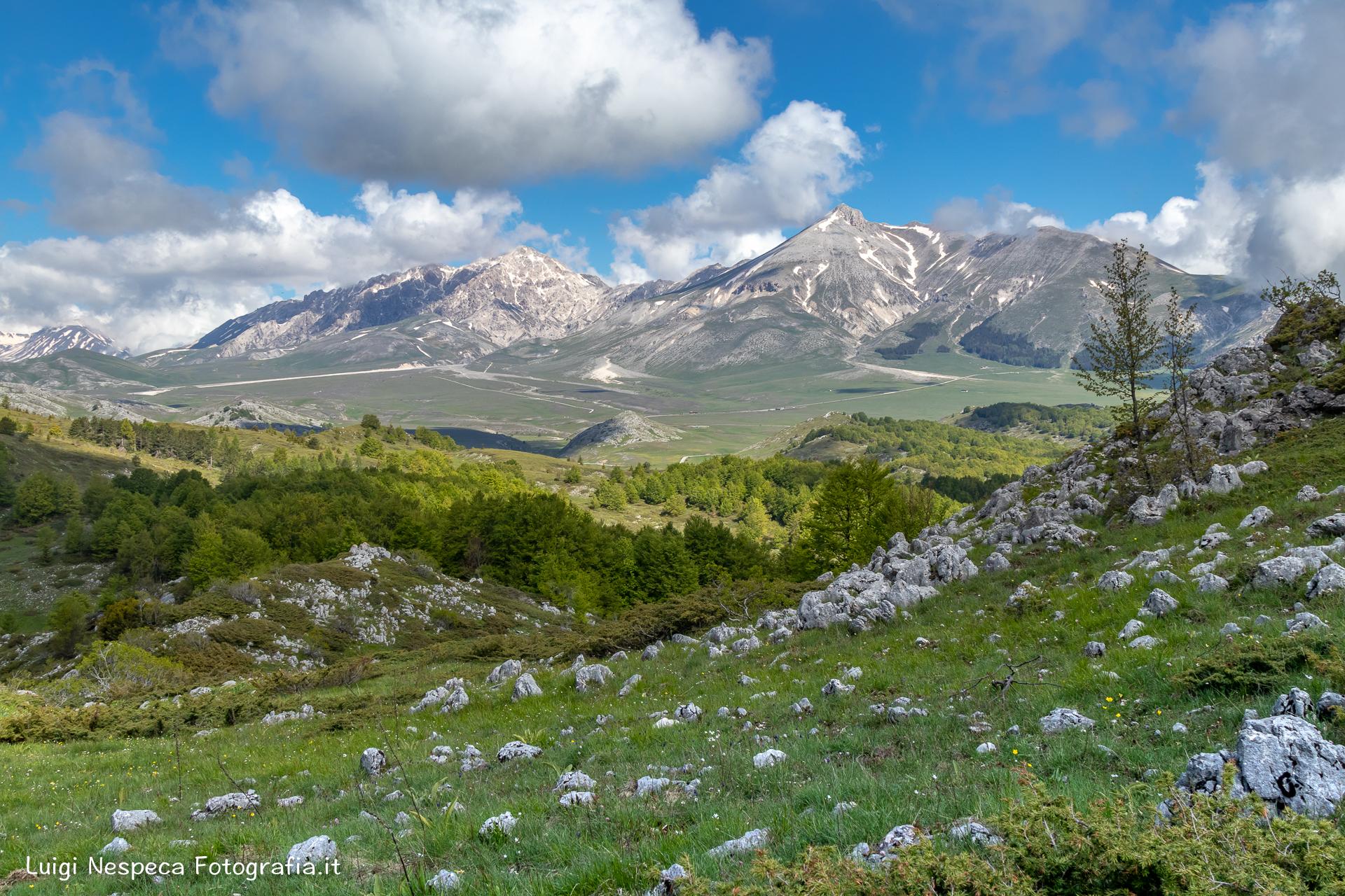 Gran Sasso - Voltigno: Belvedere Monte Meta