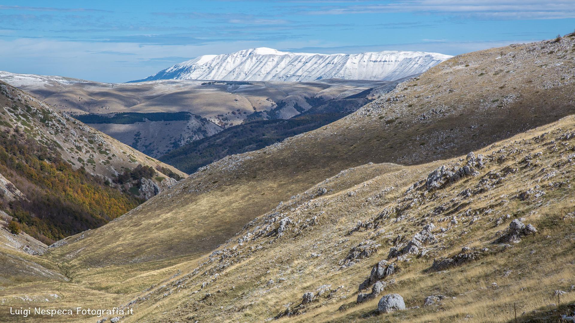 PNALM - Prima neve sulla Majella dalle montagne di Scanno (AQ)