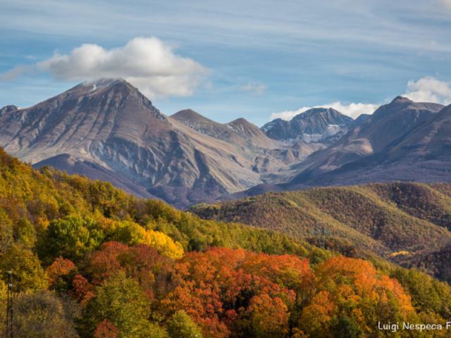 Il Monte Corvo - Autunno