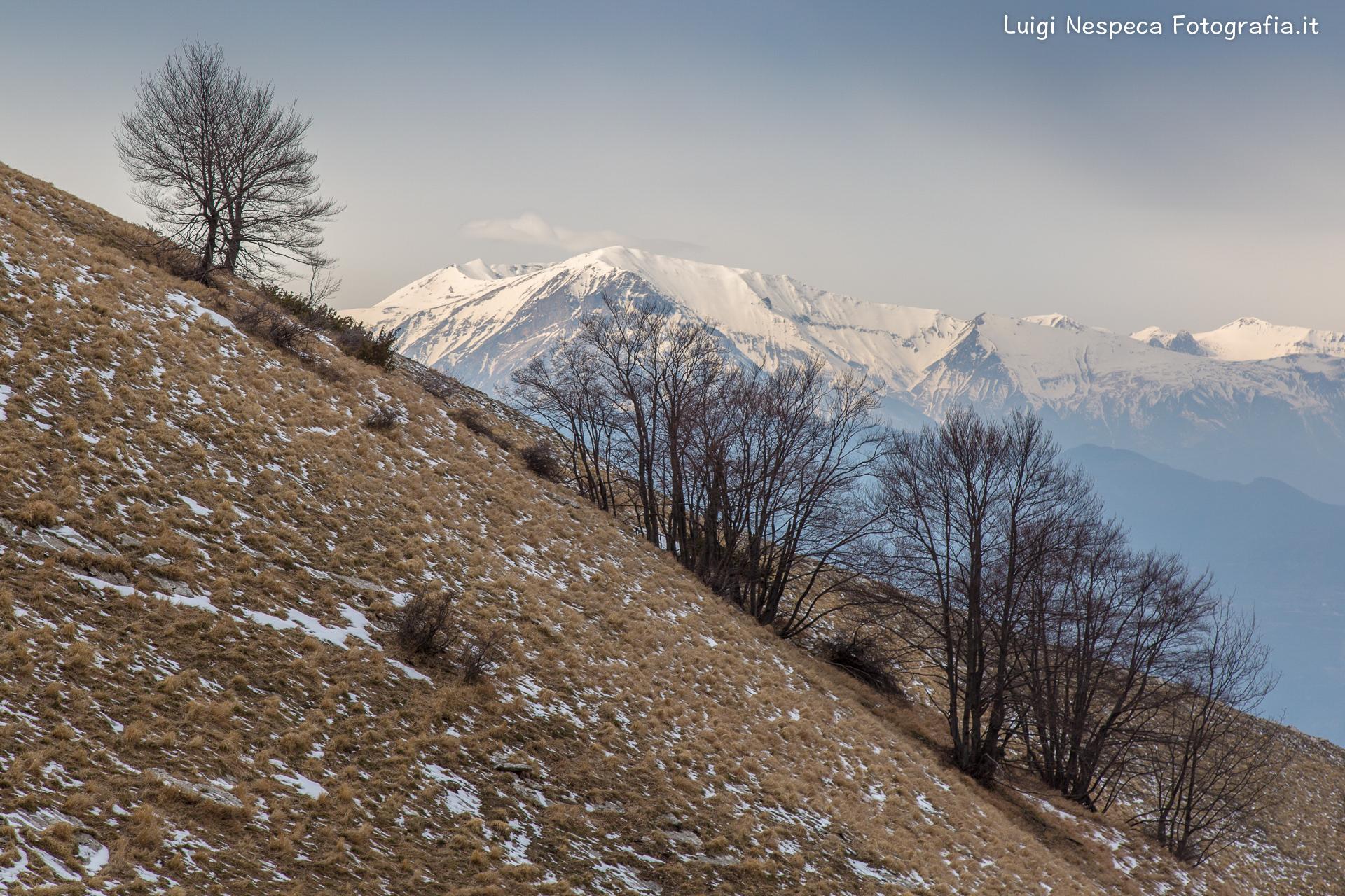 Il Monte Girella e i Sibillini - San Giacomo (TE)