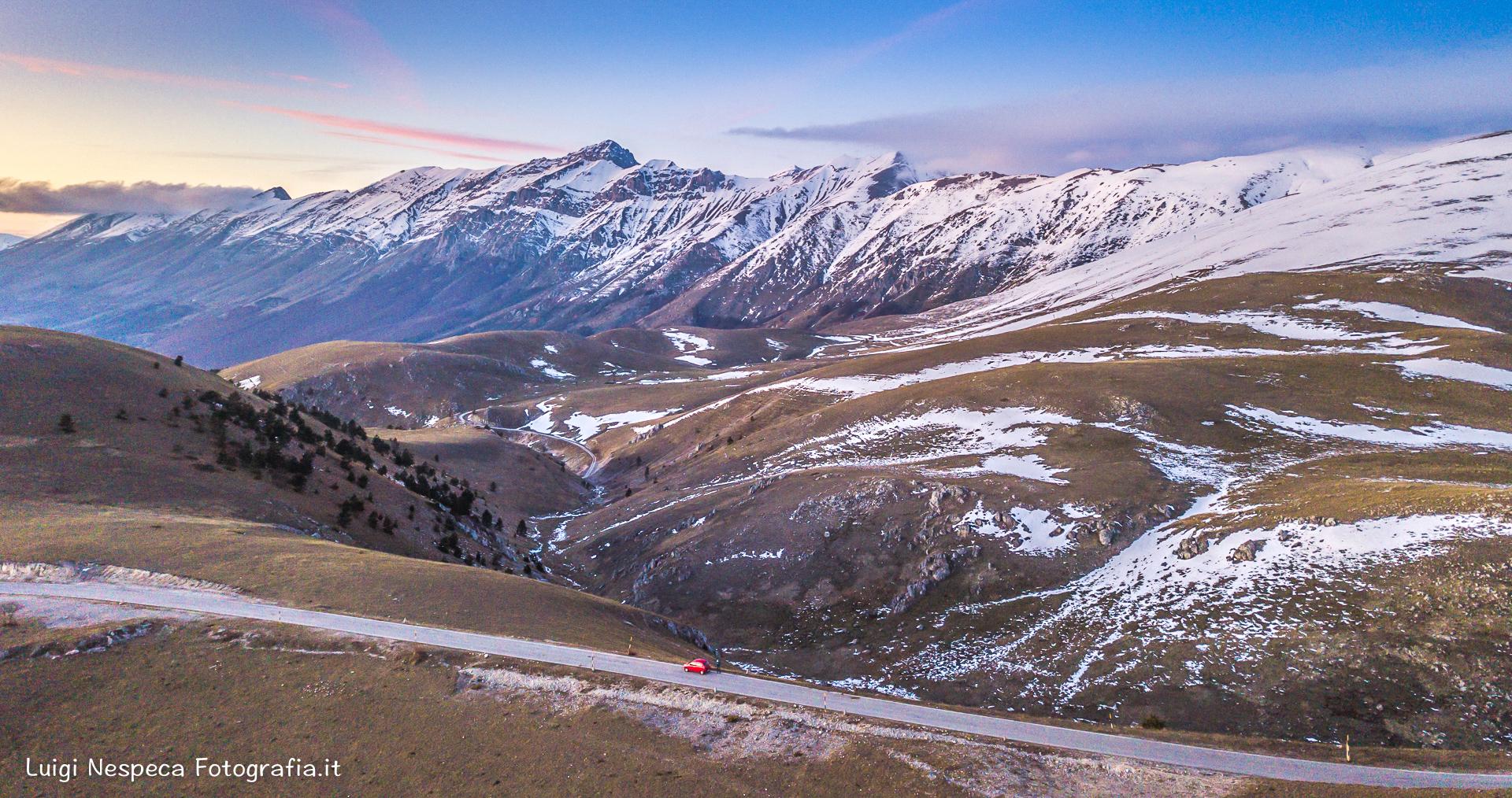Prime nevi al Gran Sasso - Pizzo Cefalone -Assergi (AQ)