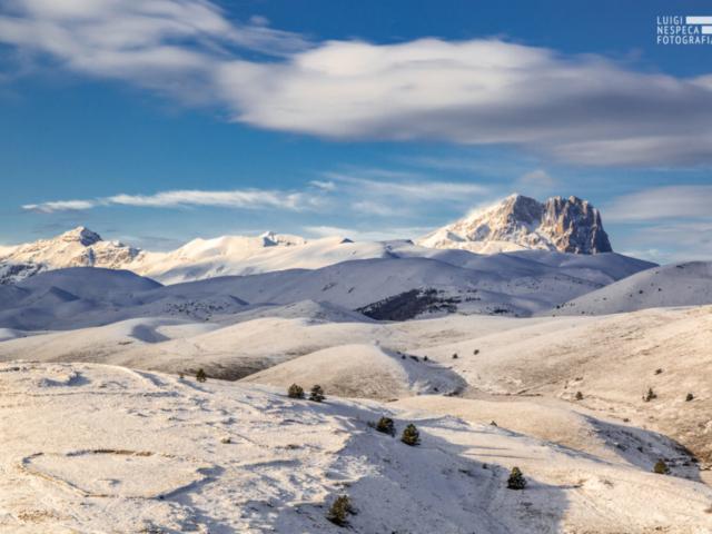 Il Corno Grande e Campo Imperatore - Rocca Calascio