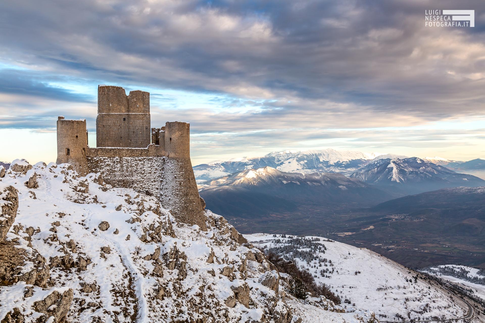 Rocca Calascio e la Majella