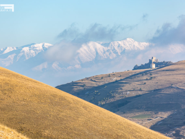 Rocca Calascio e la Majella - Santo Stefano di Sessanio (AQ)
