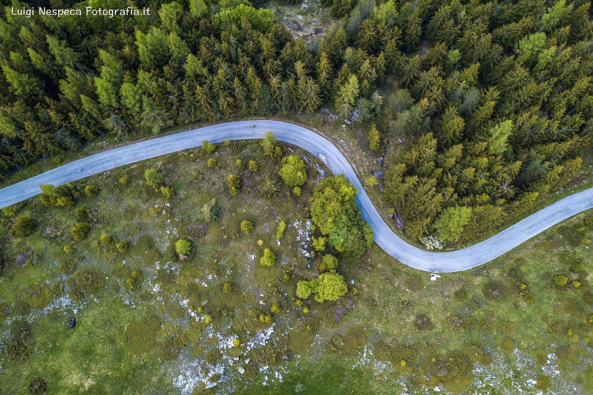 Gran Sasso - Voltigno: Strada SS17 bis nei pressi del Rifugio Ricotta