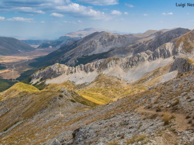 Monti del Velino: Punto Trento e Trieste