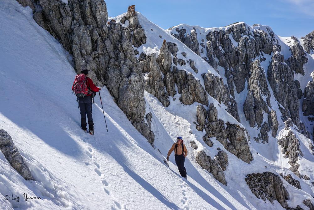 Il Monte Sirente: Passaggi finali