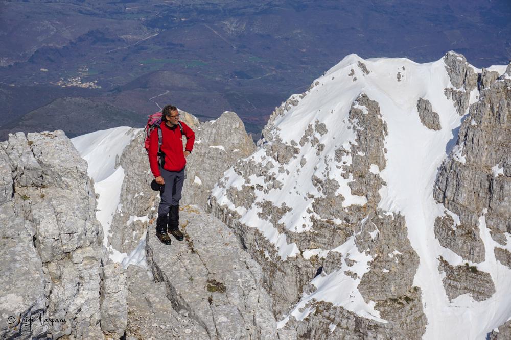 Il Monte Sirente: Alpinista Angelo