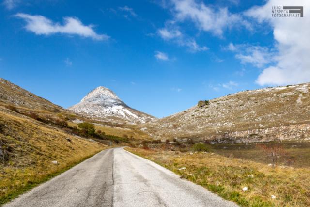 Monte Bolza nei pressi di Castel Del Monte - Parco Nazionale del Gran Sasso e Monti della Laga