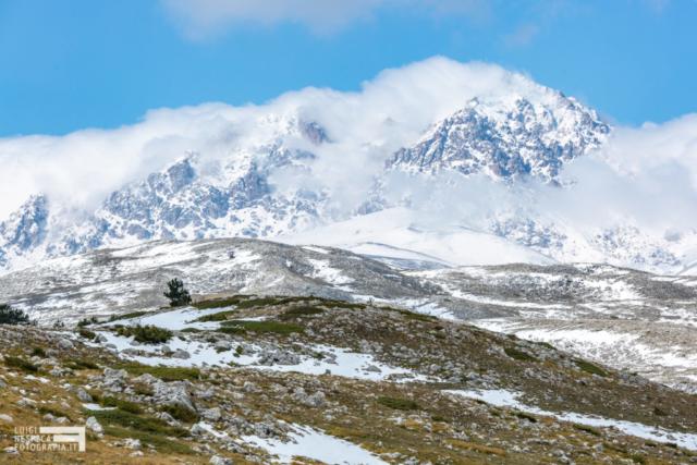 Monte Prena - Monte Veticoso e Cima delle Veticole - Prima Neve - Parco Nazionale del Gran Sasso