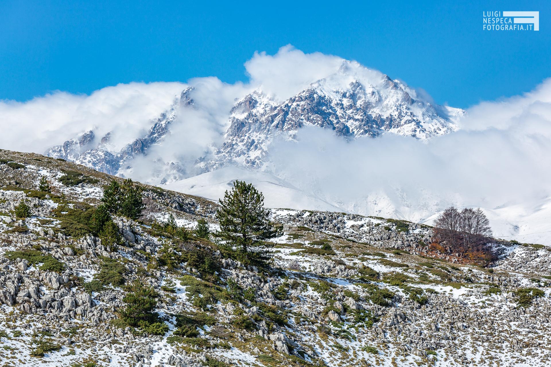 Monte Prena- Prima neve - Parco nazionale del Gran Sasso