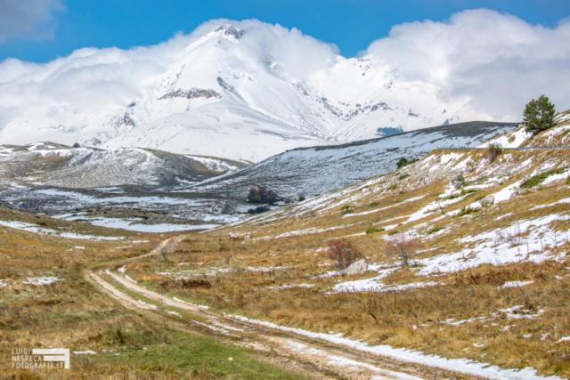 Monte Camicia - Valico di Capo Serra - Prima Neve - Parco Nazionale del Gran Sasso