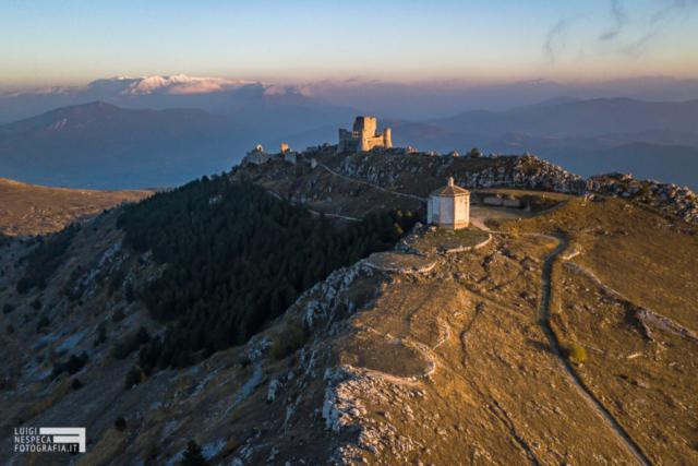Tramonto a Rocca Calascio - Parco Nazionale del Gran Sasso