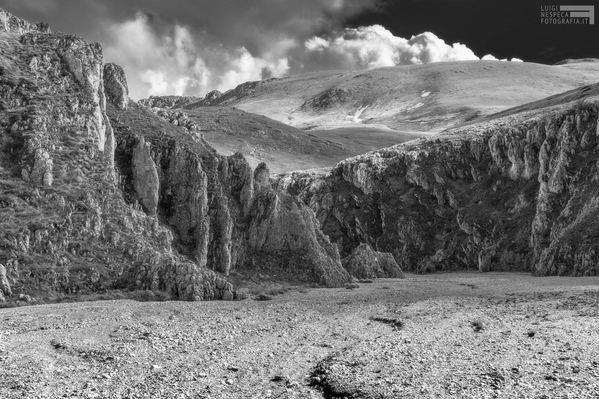 15 - Primavera: Il Canyon dello Scoppaturo - Campo Imperatore - Gran Sasso