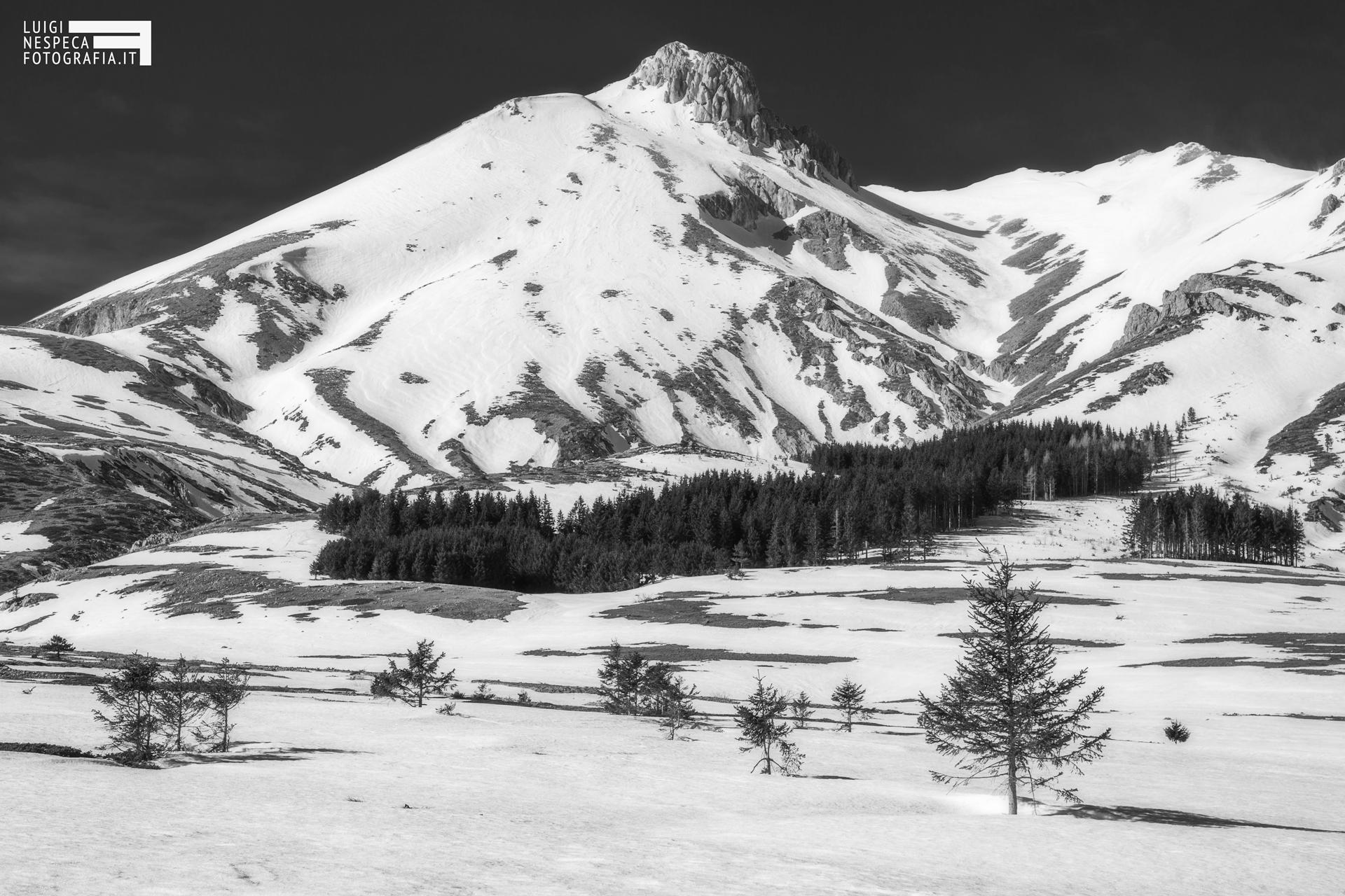 09 - Il Monte Camicia in località Fonte Vetica - Campo Imperatore