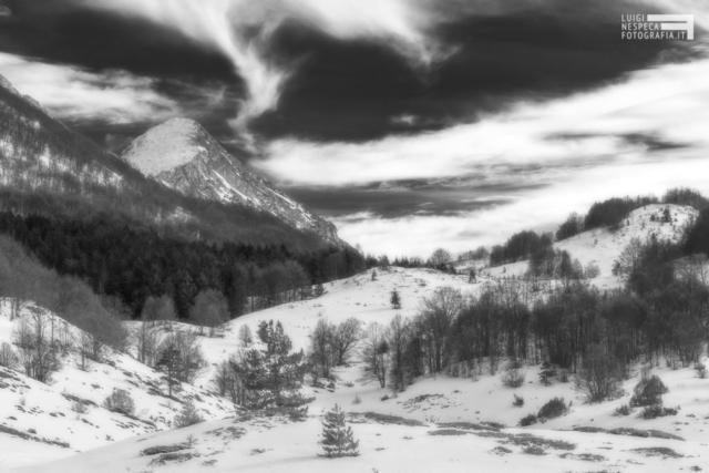 04 - Il Monte Meta del Voltigno al Gran Sasso - Castel del Monte (AQ)