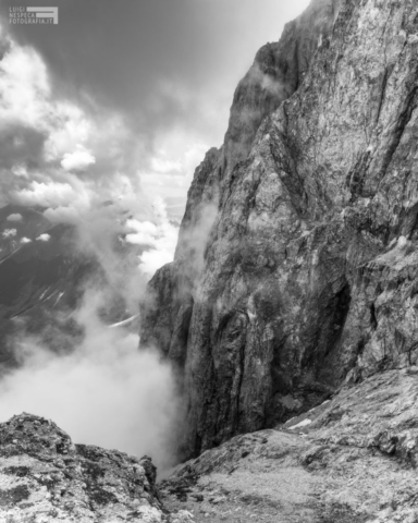 29 - Il Paretone dalla cresta Est del Corno Grande - Gran Sasso