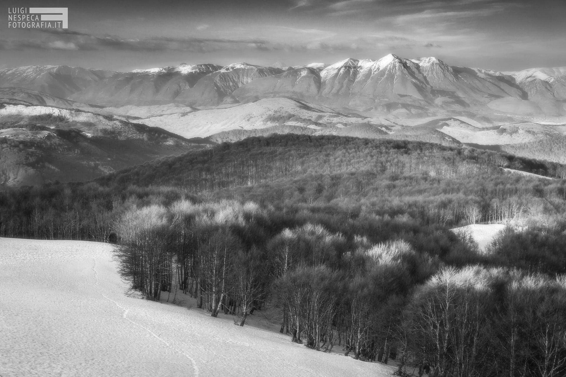 38 - Il Monte Velino dal Monte Autore - Subiaco (RM)