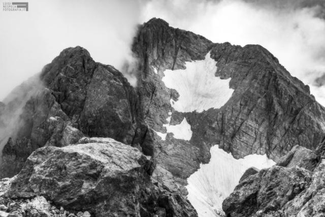 28 - Il ghiacciaio del Calderone dalla Vetta Orienta del Corno Grande - Gran Sasso