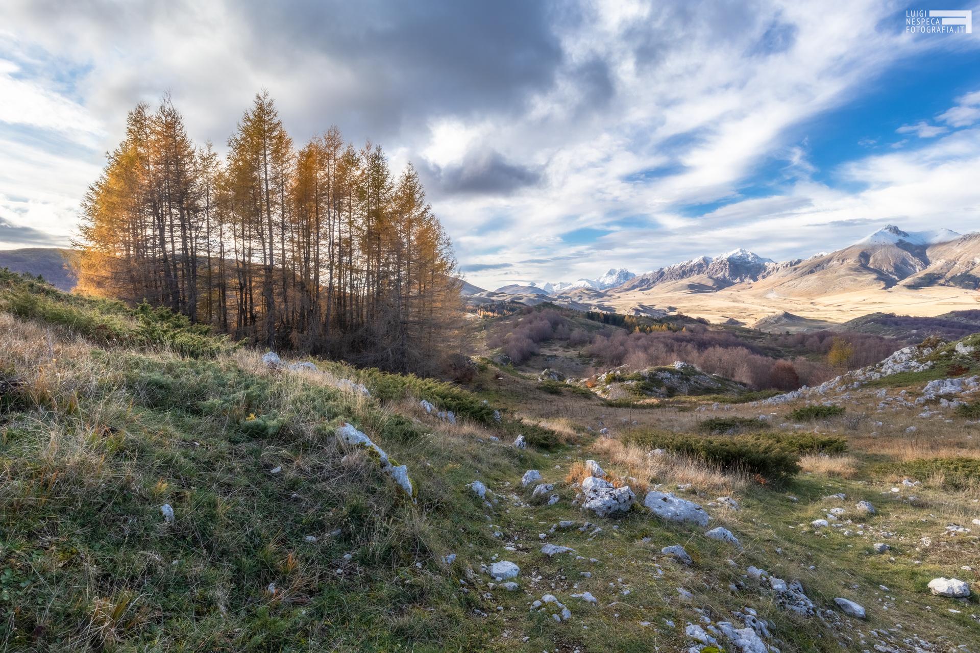 49 - Belvedere del monte meta al Voltigno - Campo Imperatore