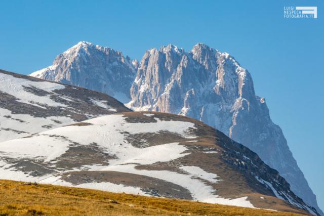 43 - Prima neve al Corno Grande - ottobre 2018 - Un anno al Gran Sasso