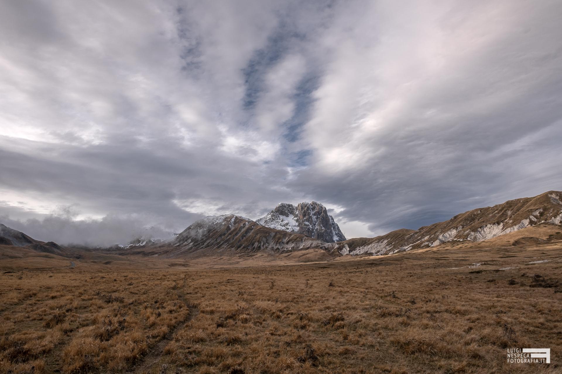 54 - Il Corno Grande e Monte Aquila - Fine Autunno 2019