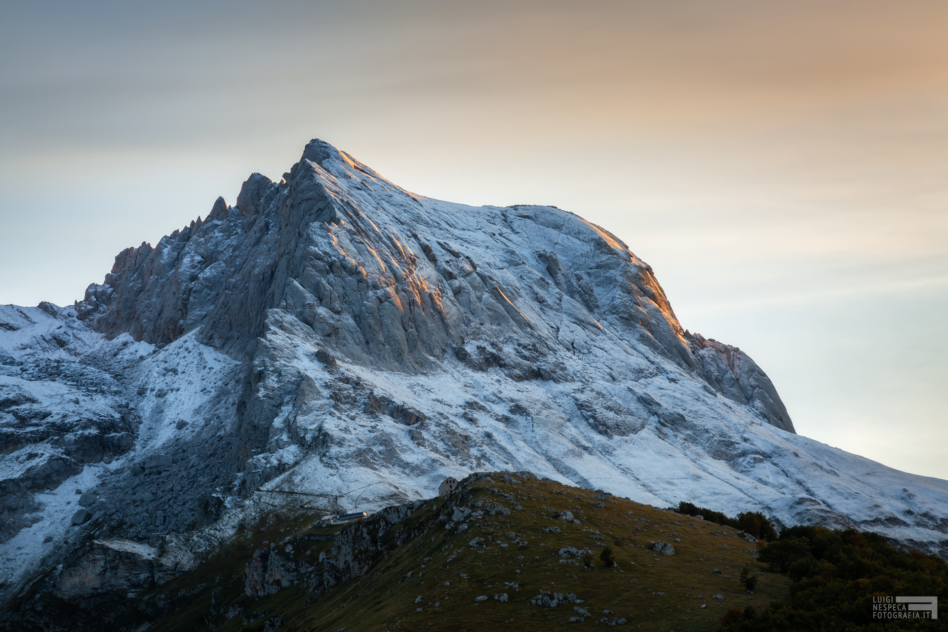 La prima neve - Corno Piccolo