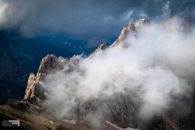 13 - La cresta del Corno Piccolo - Un anno al Gran Sasso
