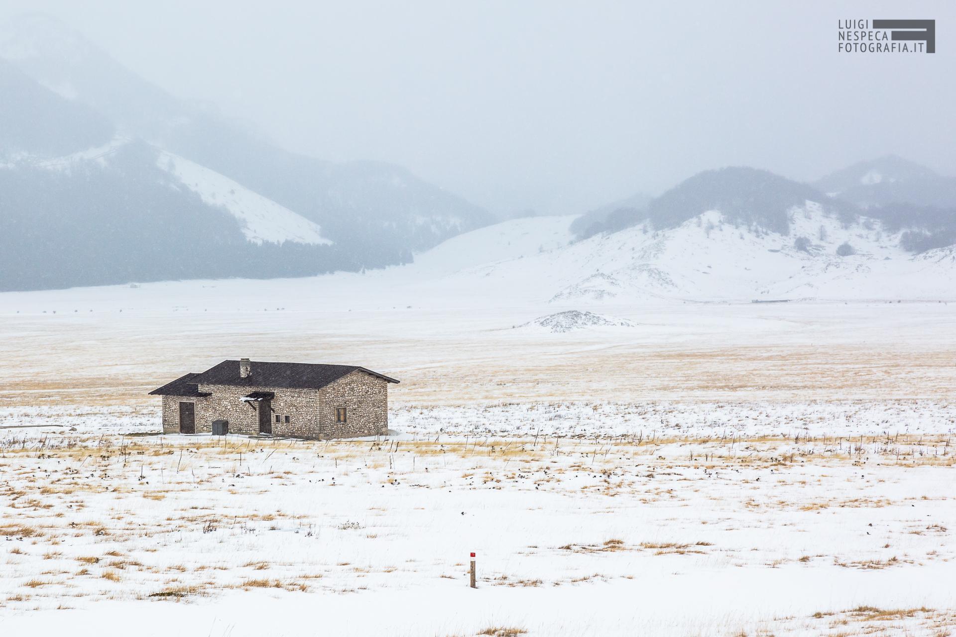 38 - Nuovo inverno a Fonte Vetica - Un anno al Gran Sasso
