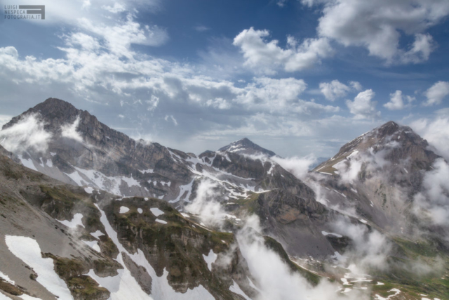 19 - Nuvole a Campo Pericoli - Un anno al Gran Sasso