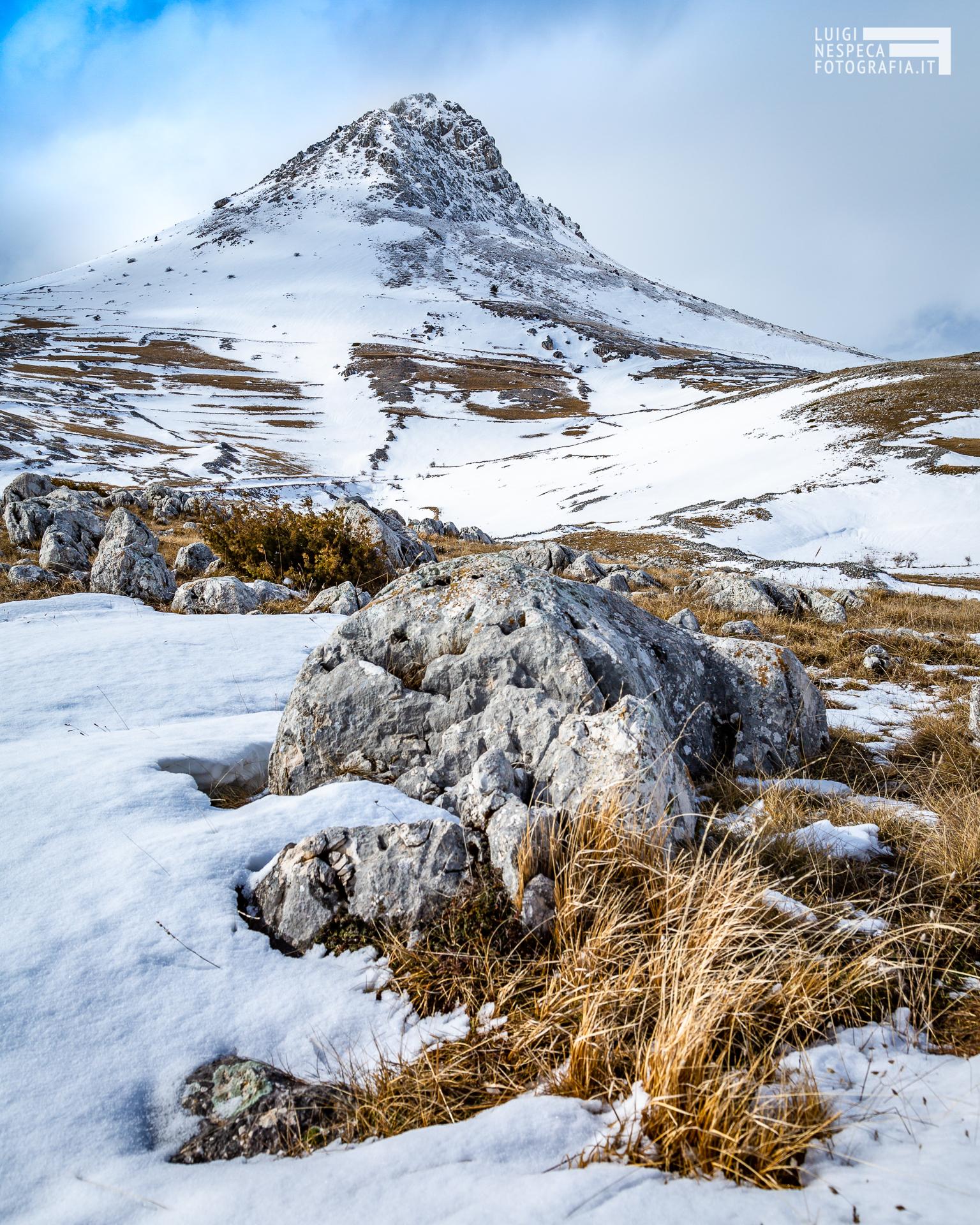 36 - Il Monte Bolza - Un anno al Gran Sasso