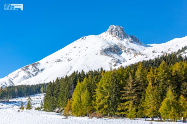 45 - prima neve sul Monte Camicia - Ottobre 2018 - Un anno al Gran Sasso