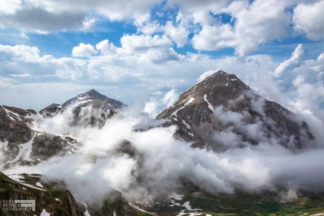 21 - Nuvole al Gran Sasso - Un anno al Gran Sasso