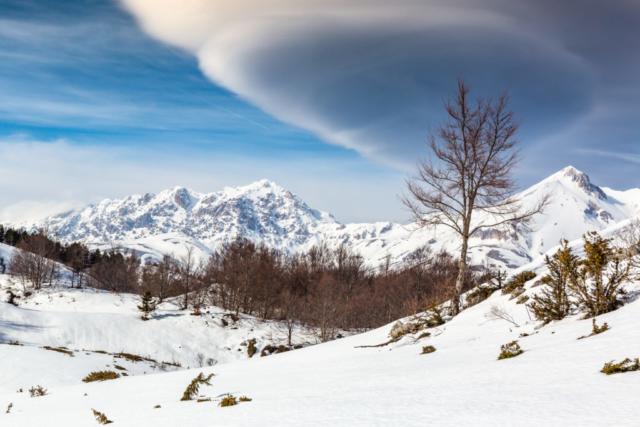 33 - Nubi lenticolari al Voltigno - Un anno al Gran Sasso