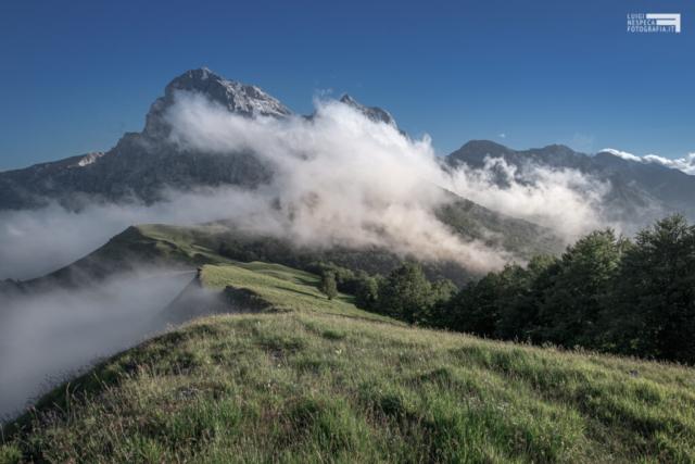 Nuvole a Cima Alta - Prati di Tivo