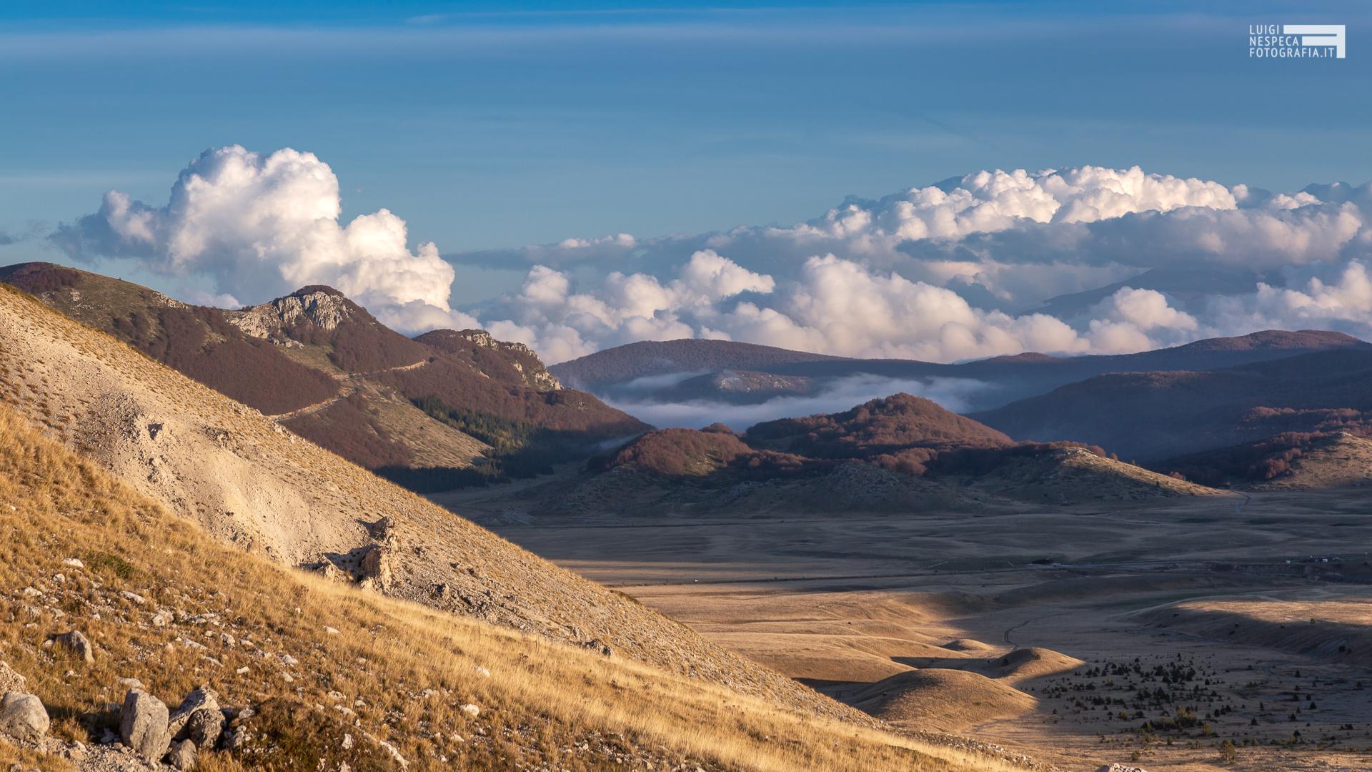 51 - Le colline del Voltigno al Tramonto - Campo Imperatore