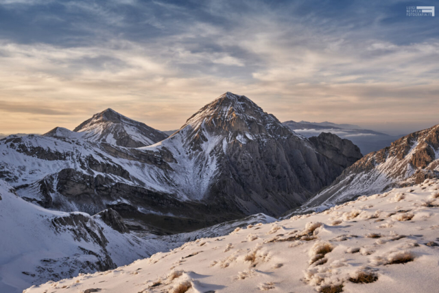 Tramonto dalla cresta del Portella - Pizzo d'Intermesoli