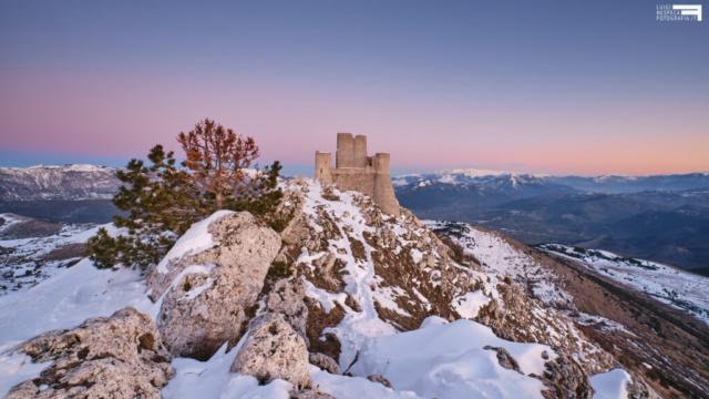 Tramonto a Rocca Calascio - il castello