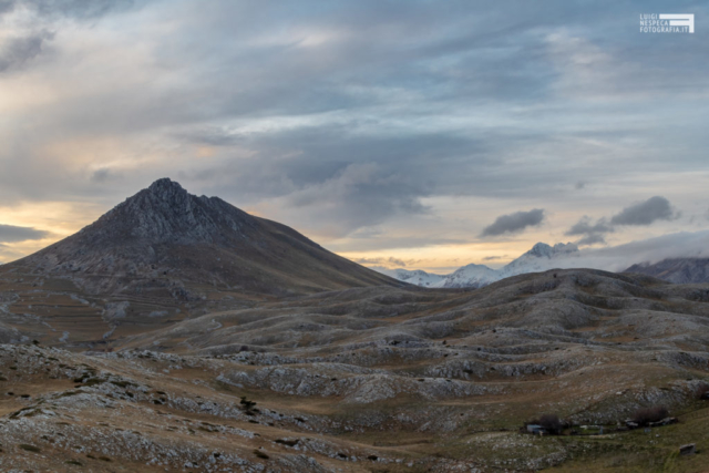 14 - Valico di Capo la Serra - Monte Bolza e alte cime - Tramonto