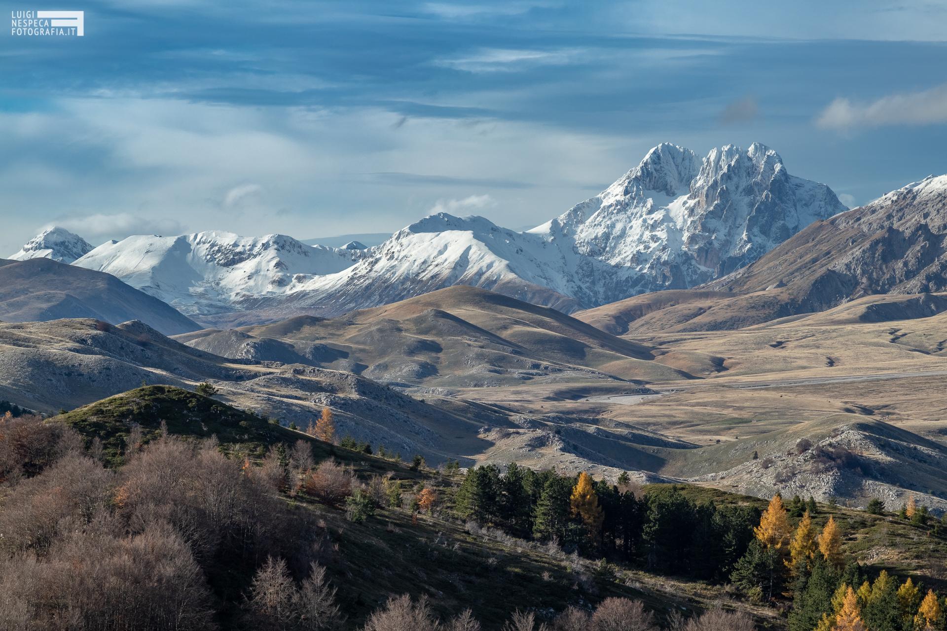 07 - Campo Imperatore: prime nevi sul Gran Sasso