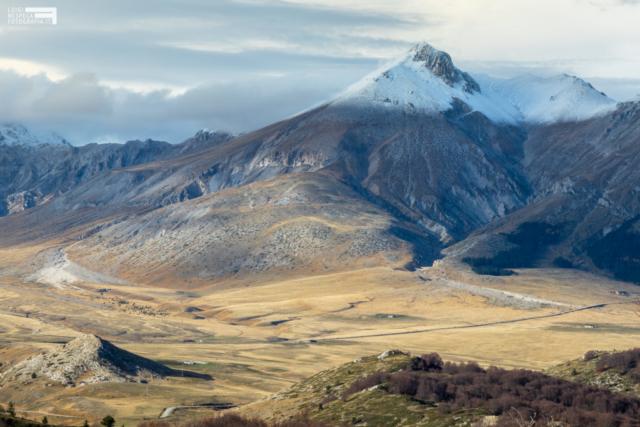 08 - Campo Imperatore: neve sul Monte Camicia