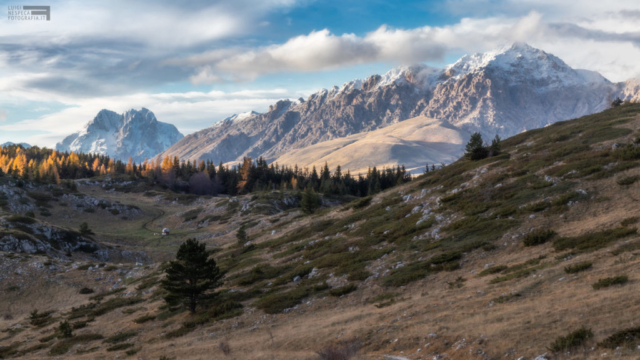 13 - Nei pressi del Rifugio Ricotta - Corno Grande e Monte Prena