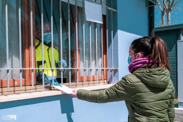 Francavilla al Mare - la consegna delle mascherine alla Protezione Civile