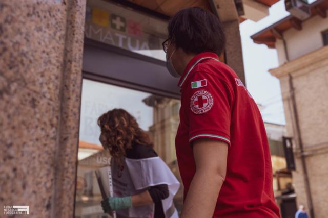 Francavilla al Mare - i volontari della Croce Rossa