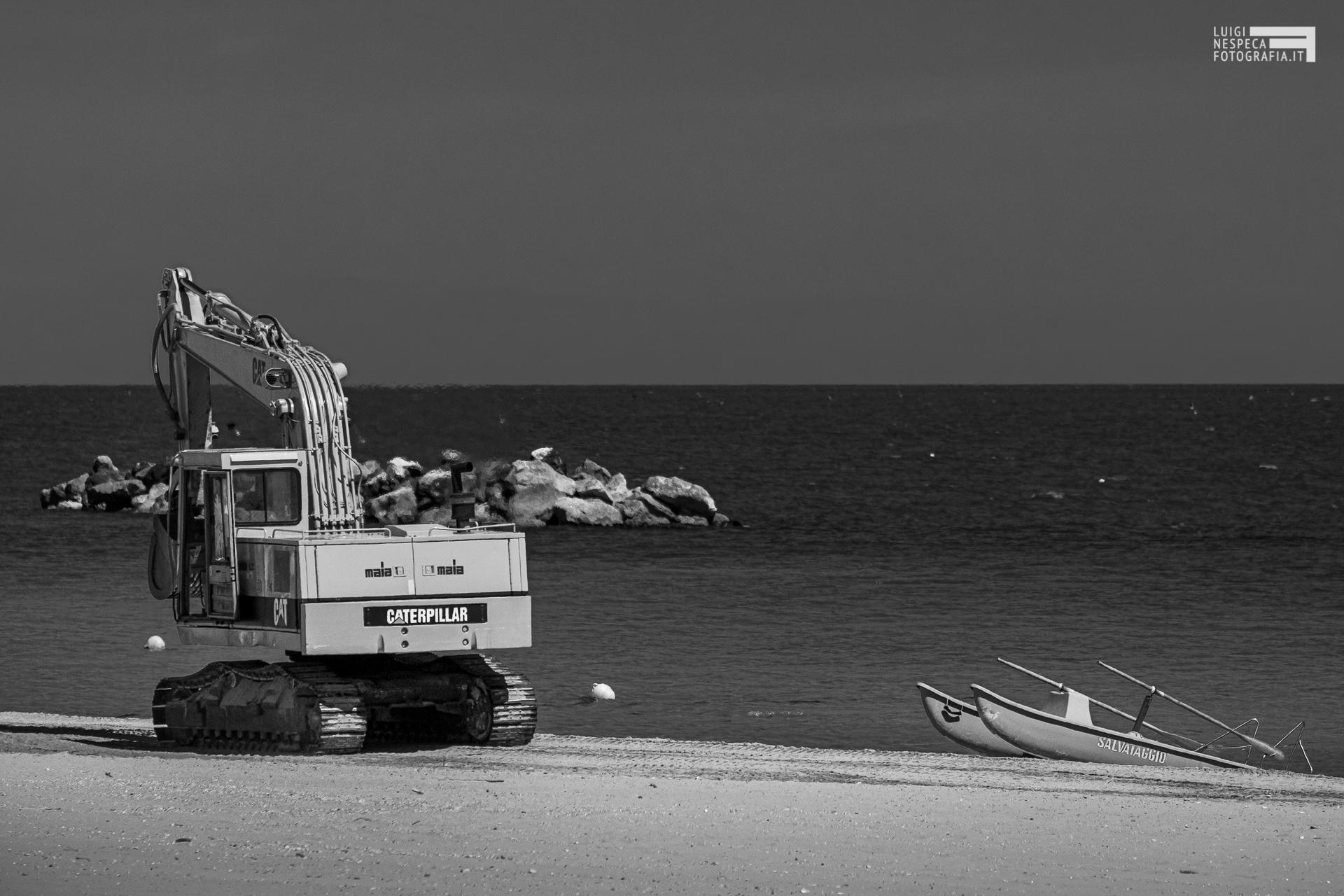 Il lungomare di Francavilla al Mare: la ripartenza