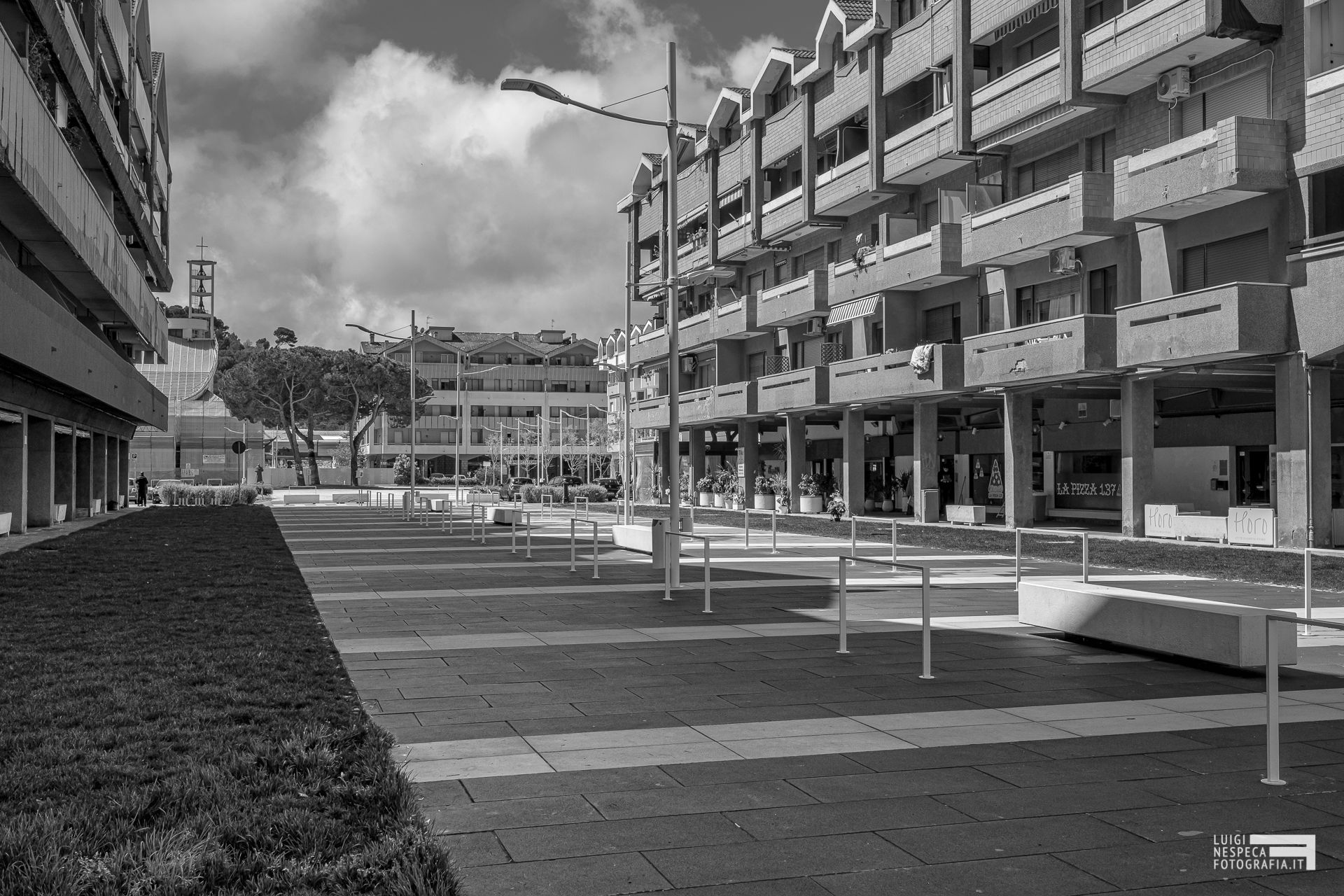 Francavilla al Mare - Piazza SantAlfonso  in Lockdown