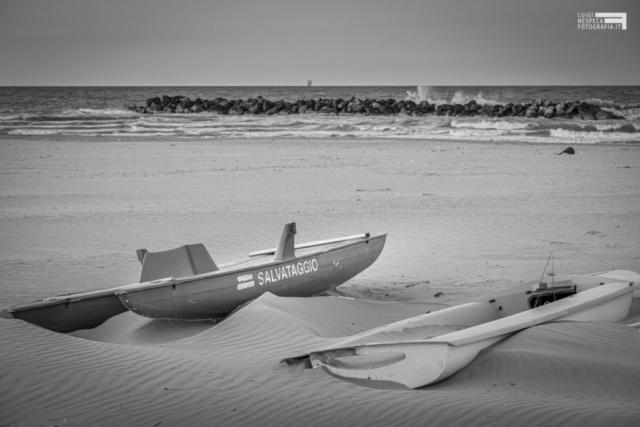 La spiaggia di Francavilla al Mare: il Salvataggio