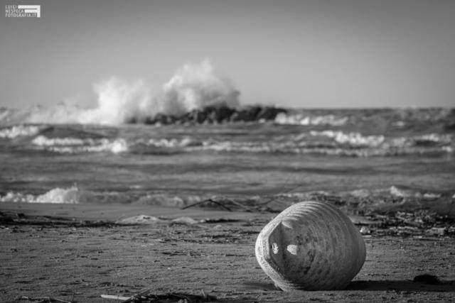 La spiaggia di Francavilla al mare durante il Lockdown