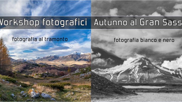 WORKSHOP FOTOGRAFICI al GRAN SASSO