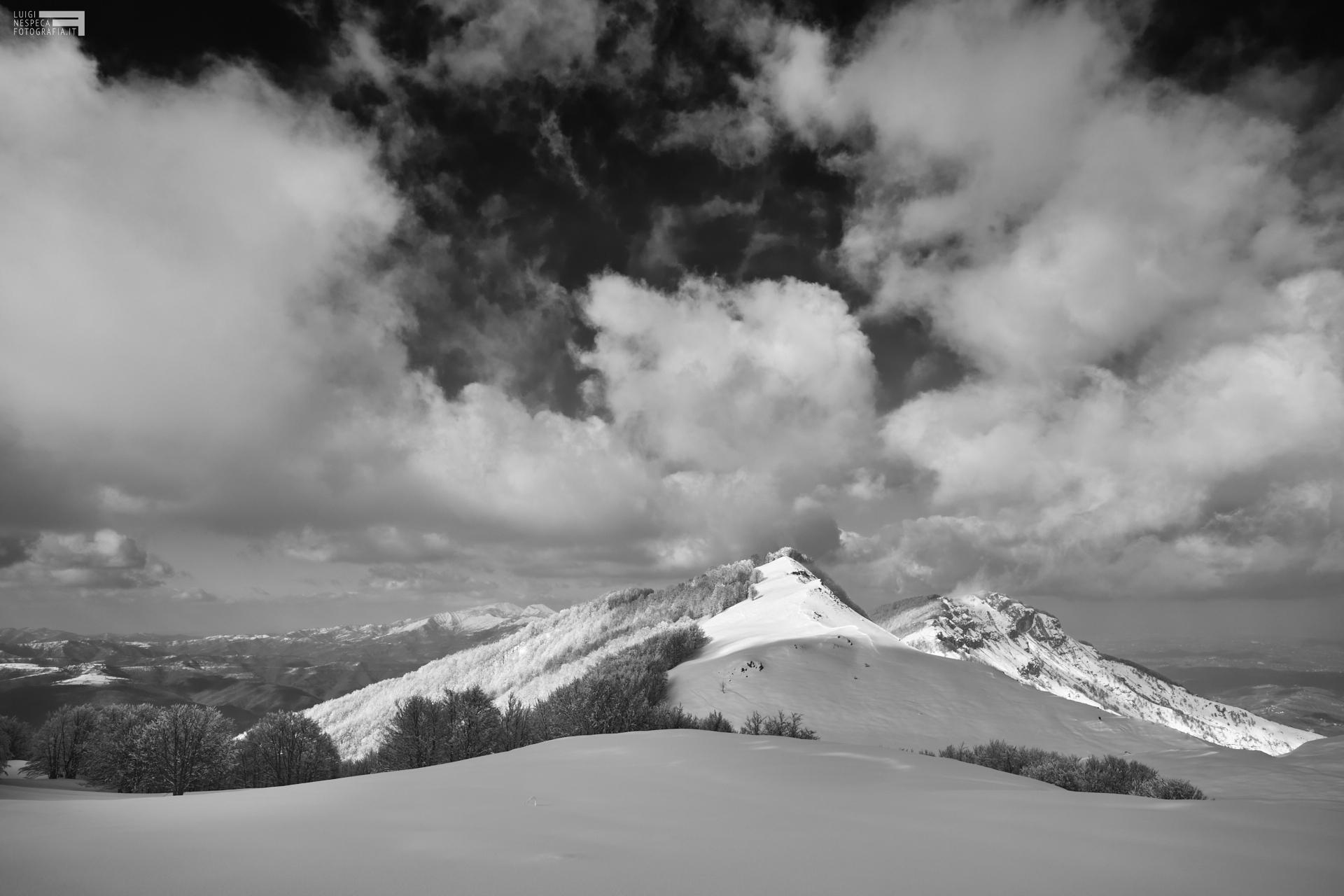 6 - Piano del laghetto, Cima Alta e il Montagnone - Marzo '21